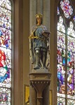 Saint Louis IX statue at Saint John Nepomuk Chapel in Saint Louis, MO