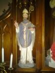 Saint Nicholas (the real guy) at Saint John Nepomuk Church, Saint Louis