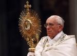 francis eucharistic adoration